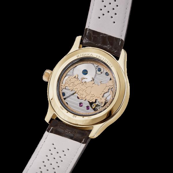 золотые мужские часы НИКА EXCLUSIVE 1102.1.3.72C