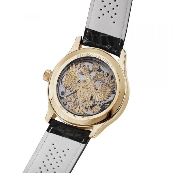 золотые мужские часы НИКА EXCLUSIVE 1102.1.3.74A
