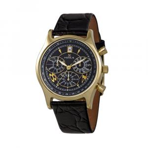 золотые мужские часы CELEBRITY 1024.0.3.52E