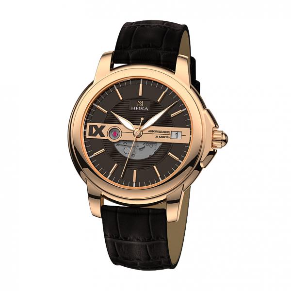 золотые мужские часы CELEBRITY 1058.0.1.63A
