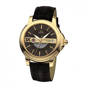 золотые мужские часы CELEBRITY 1058.0.3.63A
