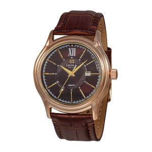 золотые мужские часы CELEBRITY 1065.0.1.61H