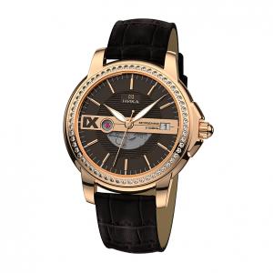 золотые мужские часы CELEBRITY 1068.1.1.63A
