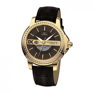 золотые мужские часы CELEBRITY 1068.1.3.63A