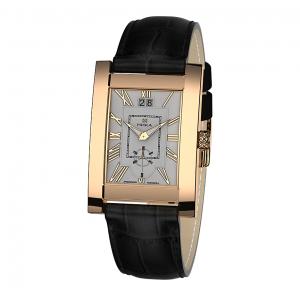 золотые мужские часы GENTLEMAN 1041.0.1.21H
