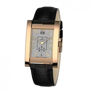 золотые мужские часы GENTLEMAN 1041.0.1.22H