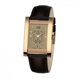 золотые мужские часы GENTLEMAN 1041.0.1.41H