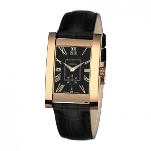 золотые мужские часы GENTLEMAN 1041.0.1.51H