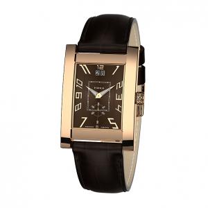 золотые мужские часы GENTLEMAN 1041.0.1.62H