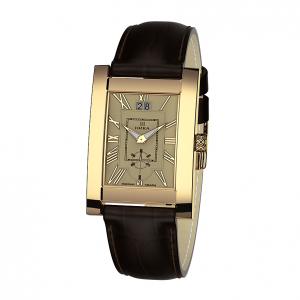 золотые мужские часы GENTLEMAN 1041.0.3.41H