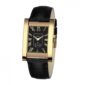 золотые мужские часы GENTLEMAN 1041.0.3.51H