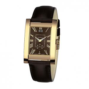 золотые мужские часы GENTLEMAN 1041.0.3.61H