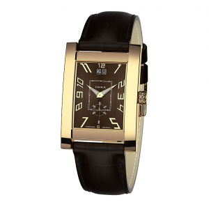 золотые мужские часы GENTLEMAN 1041.0.3.62H