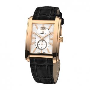 золотые мужские часы GENTLEMAN 1241.0.1.15A