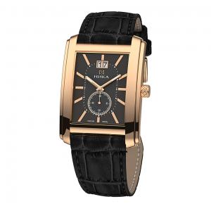 золотые мужские часы GENTLEMAN 1241.0.1.55A