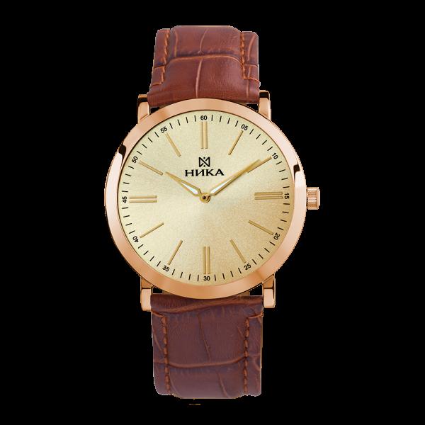 золотые мужские часы Slimline 0100.0.1.45B