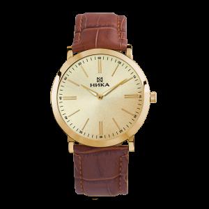 золотые мужские часы Slimline 0100.0.3.45B