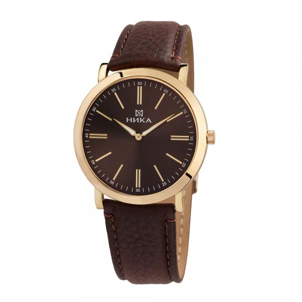 золотые мужские часы Slimline 0100.0.3.65B