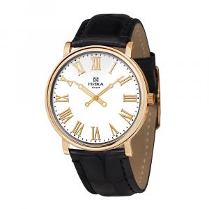 золотые мужские часы Slimline 0112.0.1.11C