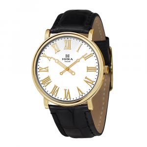 золотые мужские часы Slimline 0112.0.3.11C