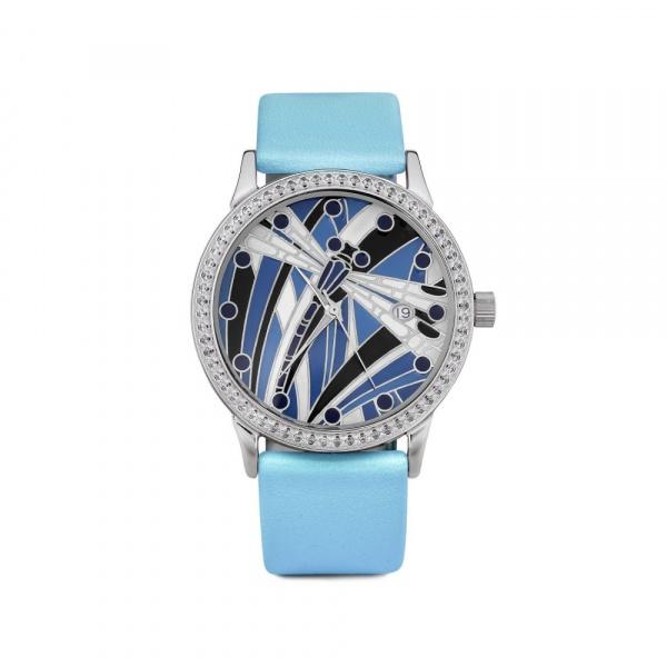 серебряные женские наручные часы Серебряные витражи 1812.2.9.99A