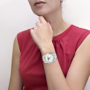 серебряные женские часы НИКА EXCLUSIVE 1100.2.9.51D