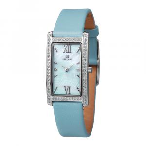 серебряные женские часы LADY 0551.7.9.36A